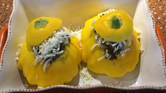 Photo of Stuffed Patty Pan Squash by jose v