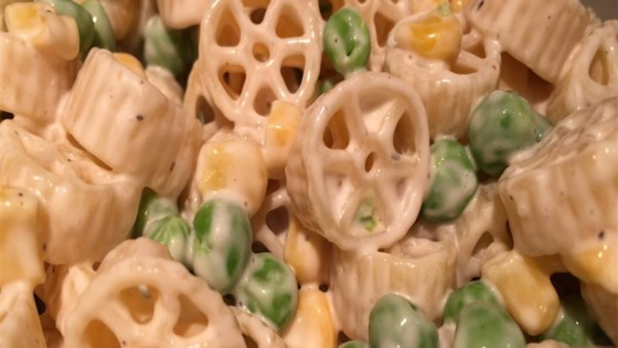 Photo of Pasta Salad with Peas and Corn by rharejr