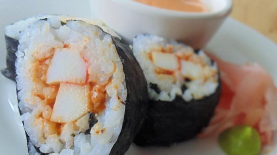 Photo of Spicy Sushi Roll by CQUICKSILVER