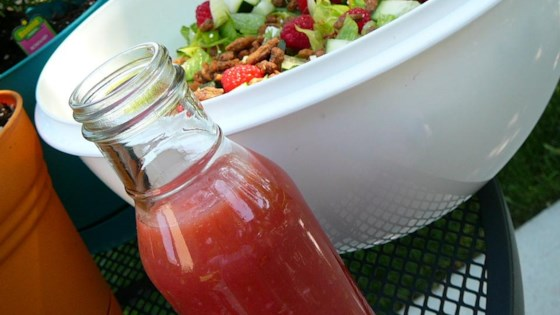 Raspberry Vinaigrette Salad Dressing