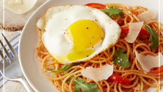 Photo of Brunch-Worthy Spaghetti And Eggs by Barilla