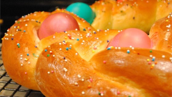 Photo of Braided Easter Egg Bread by MARBALET