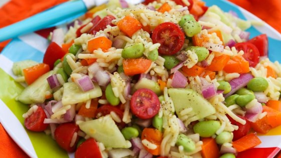 Photo of Rice and Veggie Salad with Knorr® Sides by Megan Porta