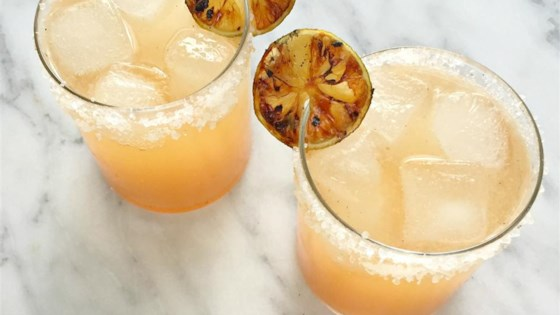 Photo of Grilled Grapefruit Paloma Cocktail by foodelicious