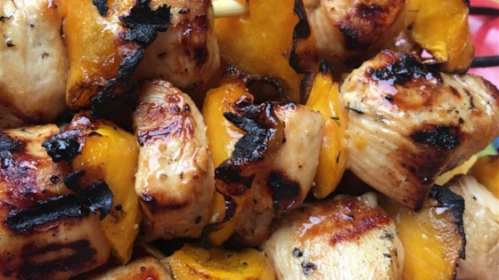 Photo of Mango Chicken Kabobs by FOOD_DIVA