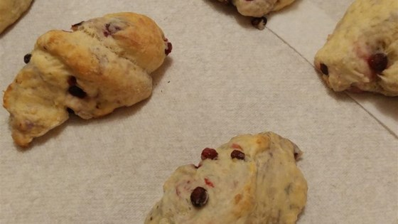 Photo of Huckleberry-Lemon Scones by C.J.W.
