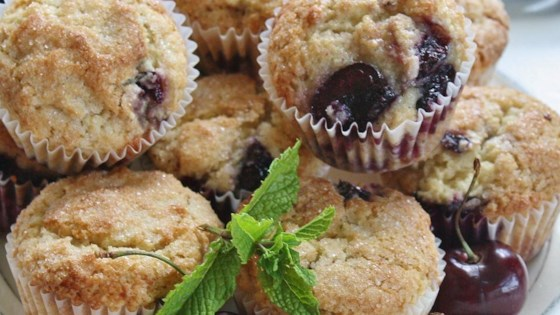 Photo of Fresh Cherry Muffins by MRSPARKERII