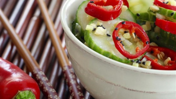 Photo of Asian Cucumber Salad by sandradxb