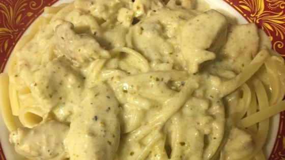 Chicken Alfredo Pesto Pasta