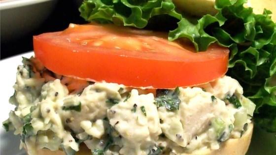Parmesan and basil chicken salad recipe allrecipes photo of parmesan and basil chicken salad by janet schaufele forumfinder Choice Image