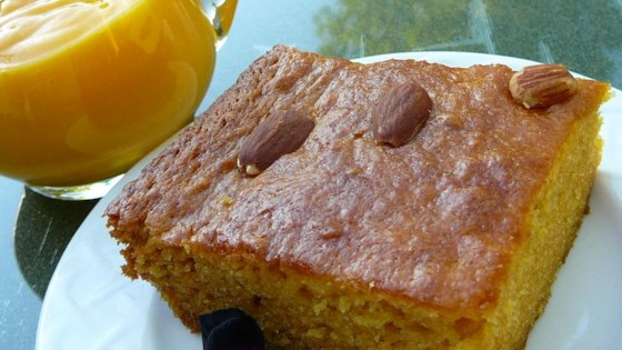 Delightfully Exotic Mango Cake
