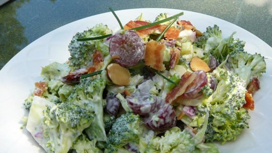 Photo of Red Broccoli Salad by MAGGIE MCGUIRE