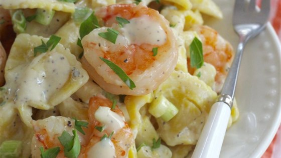 Photo of Shrimp Pasta Salad With a Creamy Lemon Dressing by Brandi Starr