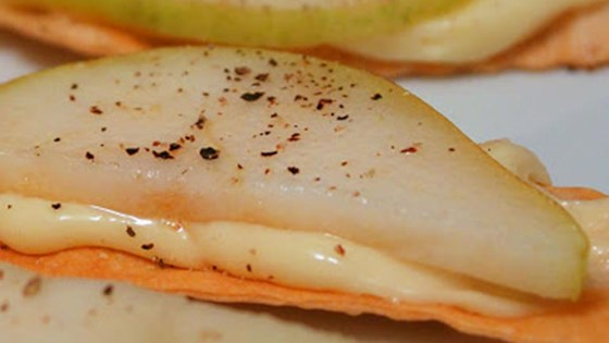 Photo of Chef John's Brie with Ripe Pear and Black Pepper by Chef John