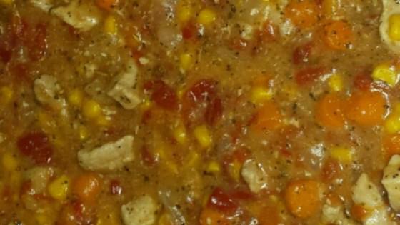 Pork Tenderloin with Tomato and Pepper Sauce