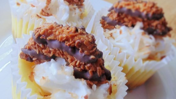 Photo of Samoa® Cheesecake Cupcakes by Abby St Claire