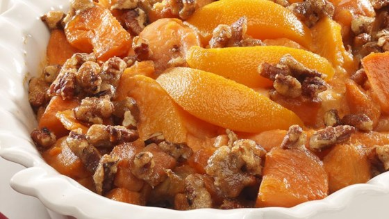 Sweet Potato Peach Bake Recipe Allrecipescom