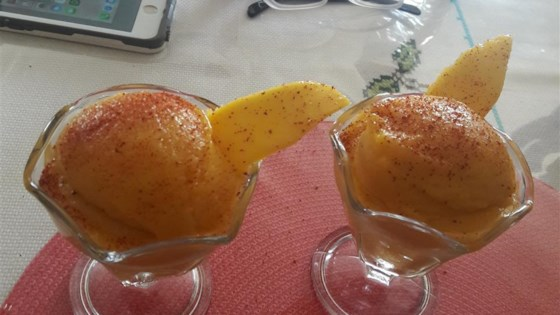 Photo of Mango Sorbet by Cindy Chaney