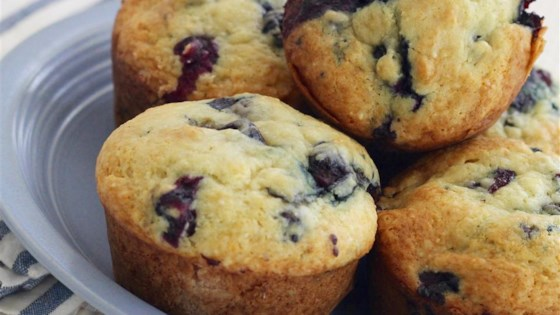 Photo of Cream Cheese-Blueberry Muffins by Giulyfafuly