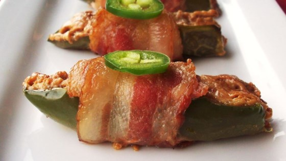Photo of Bacon-Wrapped Peanut Butter Jalapenos by ambibambi