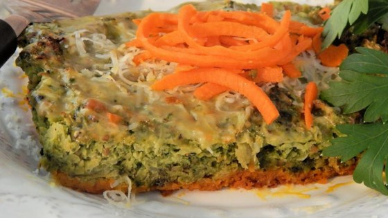 Photo of Carrot Crust Broccoli Quiche by Cut Out the Creativity
