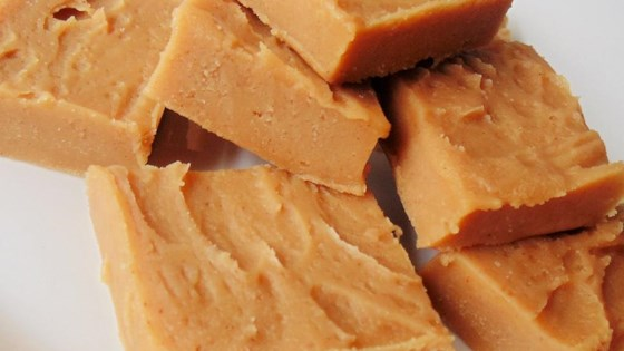 Photo of Peanut Butter Freezer Fudge (2-Ingredient)  by Amanda Brown
