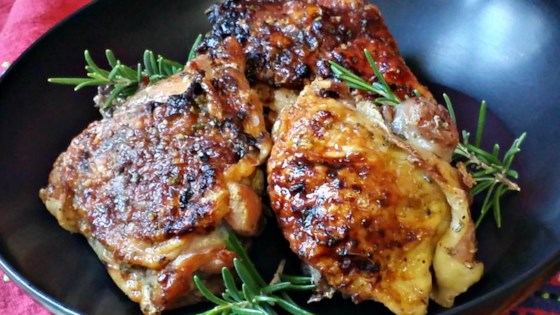 Photo of Honey Garlic Chicken with Rosemary by Linette Gall Kalbach