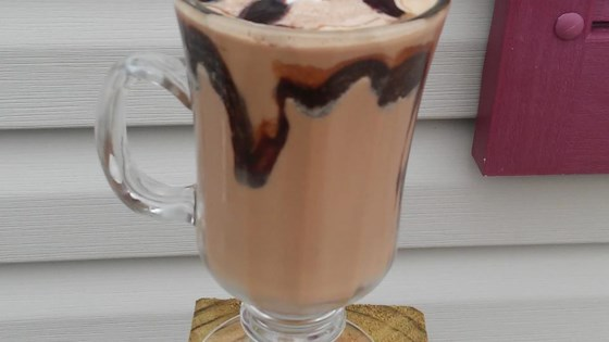 Photo of Chocolate Peanut Butter Iced Coffee by Yoly
