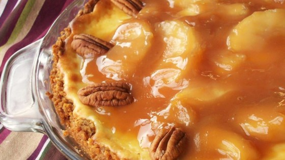 Photo of Caramel Apple Cheesecake by Lucky Leaf Fruit Filling