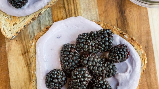 Photo of Toasts with Double Blackberries by Yoplait