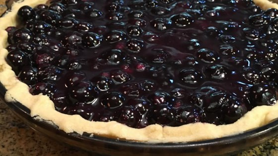 Photo of Patsy's Half-Baked Blueberry Pie by Ken Rosenfeld