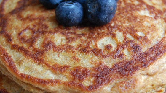 Photo of Wheat Germ Whole-Wheat Buttermilk Pancakes by KAYKWILTS