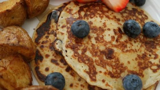 Pleasing Cottage Cheese Pancakes Recipe Allrecipes Com Interior Design Ideas Gentotryabchikinfo