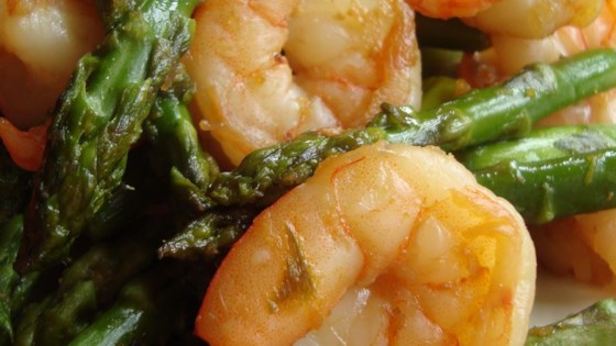 Photo of Jumbo Shrimp and Asparagus by AMYSTEPHEN