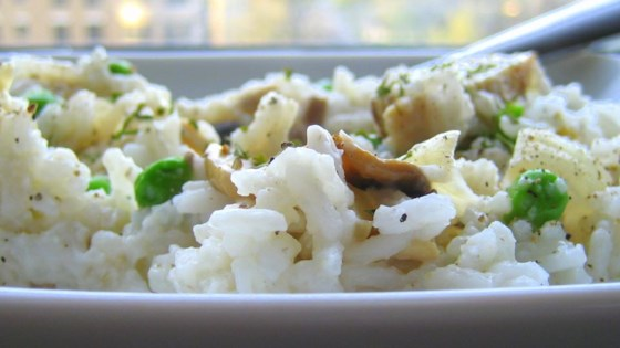 Photo of Mushrooms and Peas Rice by Vicky
