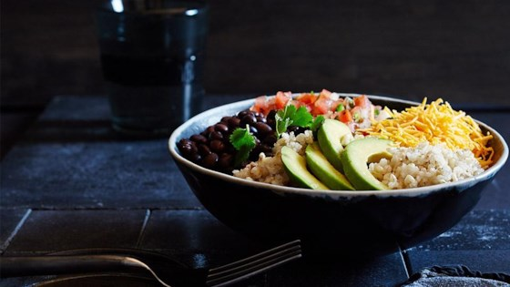 Photo of Brown Rice Bean Burrito Bowl by truRoots®