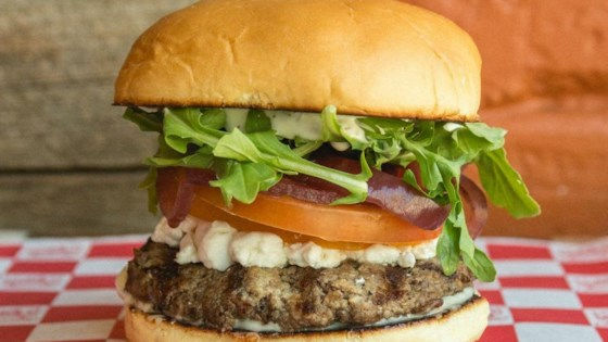 Photo of Li'l Woody's Farmers Market Burger by Leslie Kelly