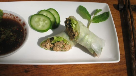Photo of Lemon Grass and Chicken Summer Rolls by Seattle Dad
