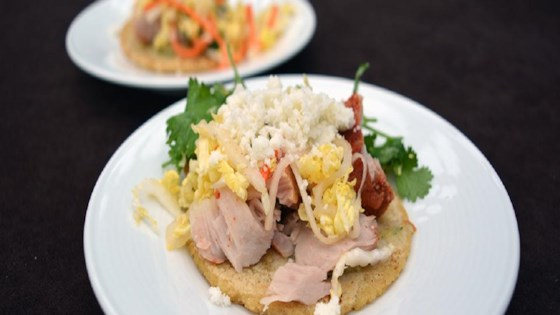 Photo of Chef Julian's Smoked Tuna Tacos by Twenty/20 Grill