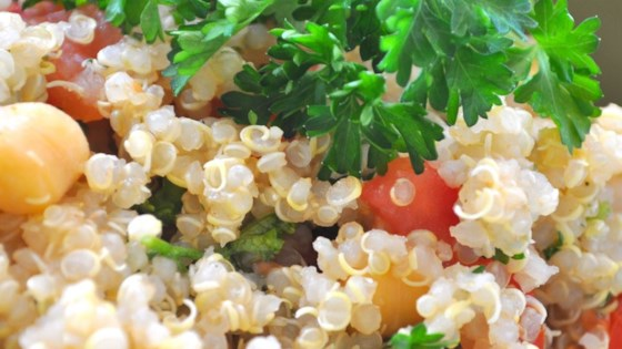 Photo of Quinoa with Chickpeas and Tomatoes by sarahhouston