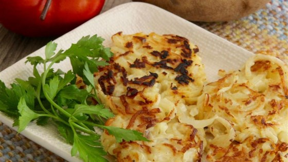 Photo of Apple-Potato Latkes by lutzflcat
