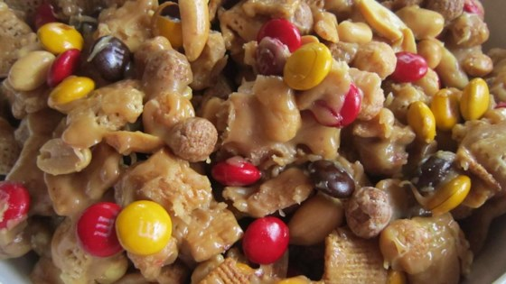 Photo of Sweet and Crunchy Popcorn Snack Mix by JVAND