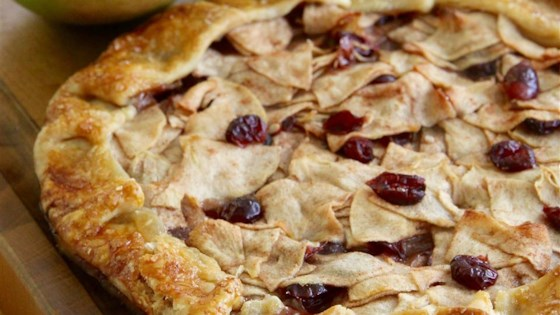 Photo of Apple-Cranberry Tart by lutzflcat