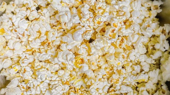 Photo of Sesame Parmesan Popcorn by Tukaussey