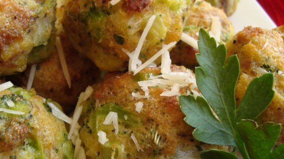 Parmesan Broccoli Balls Recipe
