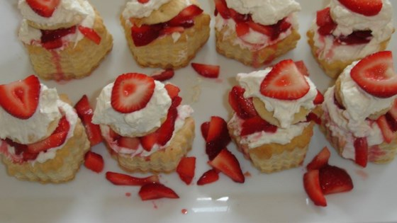 Photo of Strawberry Cream Cheese Clouds by Michelle