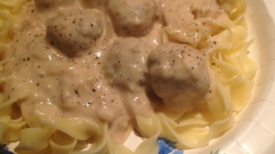 Photo of Quick Meatball Stroganoff by Barbara Miller