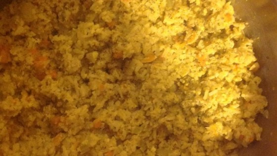 Rice Pilaf with Scrambled Eggs