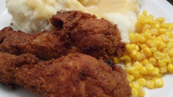 Photo of Fried Chicken with Creamy Gravy by Gina