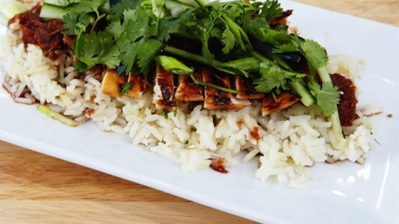 Photo of Jackie's Lemongrass Ginger Chile Chicken and Rice by cooksinheels
